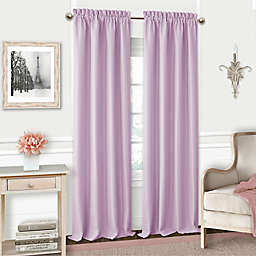 Adaline 84-Inch Rod Pocket Blackout Window Curtain Panel in Lavender