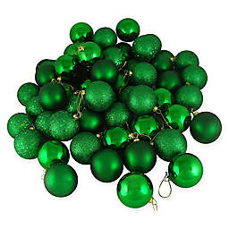 Northlight® 36-Pack Christmas Ball Ornaments in Green