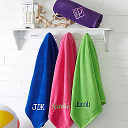 Colorful Embroidered Beach Towel Collection
