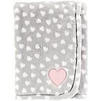 carter's® Heart Velboa Receiving Blanket