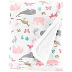 carter's® Animal Velboa Receiving Blanket