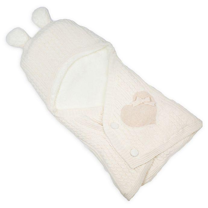 Alternate image 1 for Nipperland Lil Bear Baby Blanket in Cream