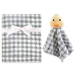 Hudson Baby® Duck Security Blanket Set in Yellow/Grey
