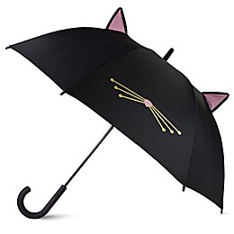 kate spade new york Cat Umbrella in Black