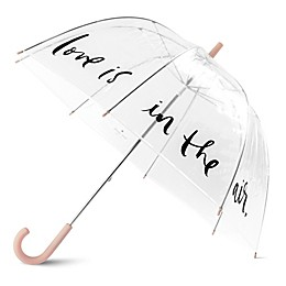 kate spade new york Love in Air Umbrella in Blush