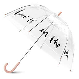 kate spade new york Love in Air Umbrella in Blush