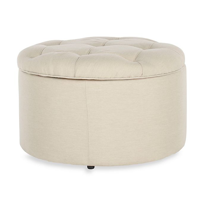 Alternate image 1 for Safavieh Tanisha Shoe Ottoman in Cream