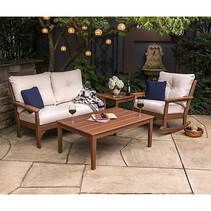 Polywood Vineyard Patio Furniture Collection Bed Bath Beyond