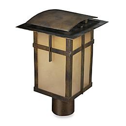 ELK Lighting San Fernando 1-Light Outdoor Post in Hazelnut Bronze