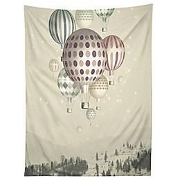 Deny Design Belle13 Winter Dreamflight 80-Inch x 60-Inch Tapestry
