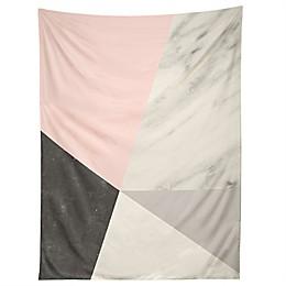 Deny Designs Emanuela Carratoni Winter Color Geo 80-Inch x 60-Inch Tapestry