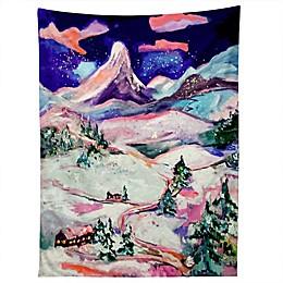 Deny Designs Ginette Fine Art Winter Wonderland 80-Inch x 60-Inch Tapestry