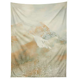 Deny Designs Caleb Troy Banff Gold Painted Christmas 80-Inch x 60-Inch Tapestry