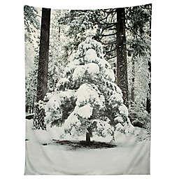 Deny Designs Bree Madden Winter Snow 80-Inch x 60-Inch Tapestry