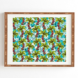 Deny Designs Aimee St. Hill Tropical Christmas Framed Wall Art