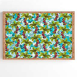 Deny Designs Aimee St. Hill Tropical Christmas 20-Inch Square Framed Wall Art