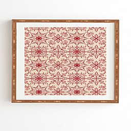 Deny Designs Snowflake Framed Wall Art