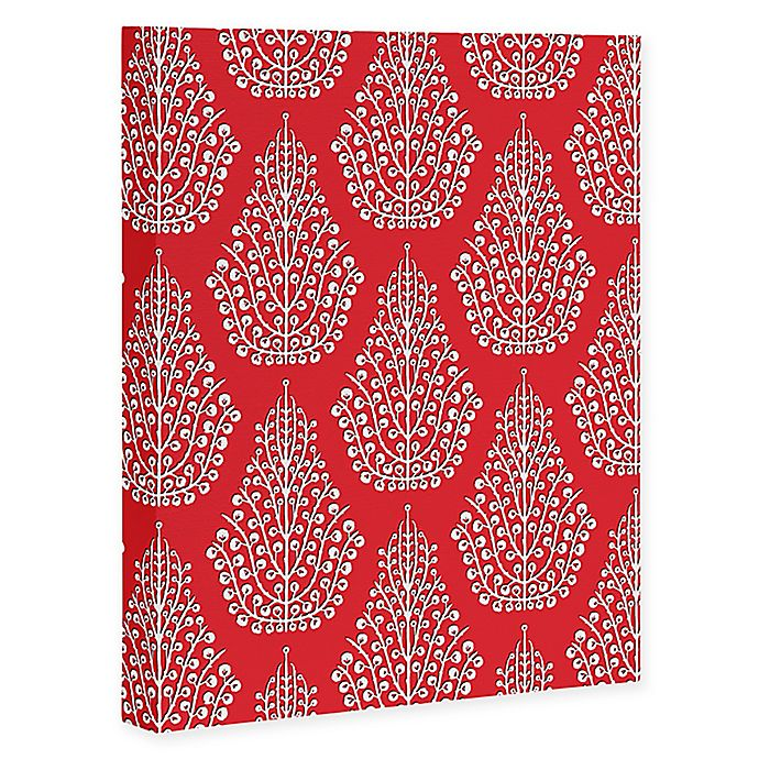 Alternate image 1 for Deny Designs Spirit Canvas Wall Art in Red