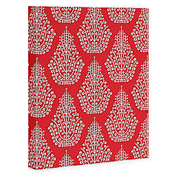 Deny Designs Spirit Canvas Wall Art in Red