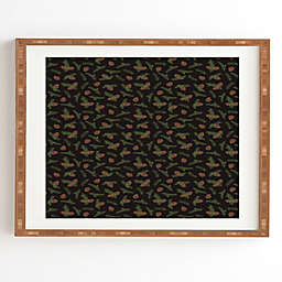 Deny Designs Pine Cone Dance Framed Wall Art