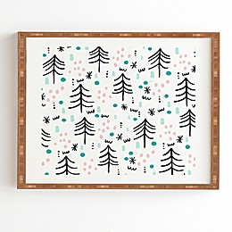 Deny Designs Winter Wander Framed Wall Art