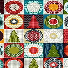 Deny Designs Geometric Xmas Wall Art