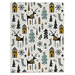 Deny Designs Christmas Wonderland Canvas Wall Art