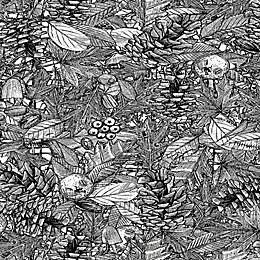 Deny Designs Forest Floor Wall Art
