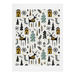 Deny Designs Christmas Wonderland Print Wall Art