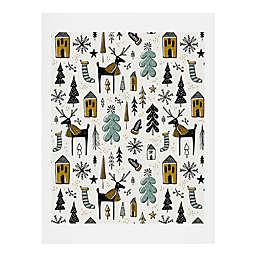 Deny Designs Christmas Wonderland Print Wall Art