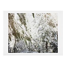 Deny Designs Snow Falling Print Wall Art