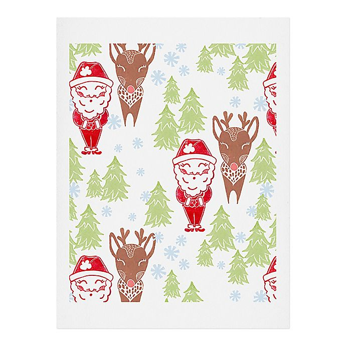 Alternate image 1 for Deny Designs North Pole Print Wall Art