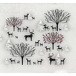 Deny Designs Winter Scene Wall Art