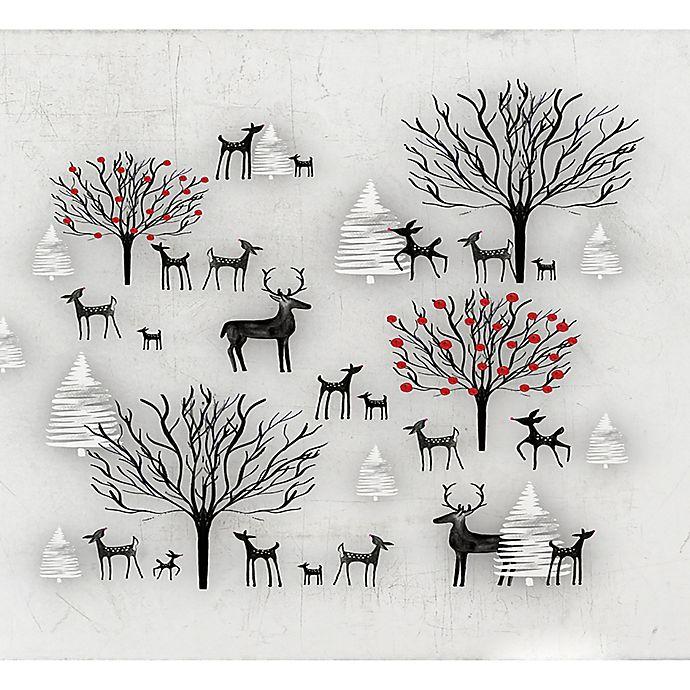 Alternate image 1 for Deny Designs Winter Scene Wall Art