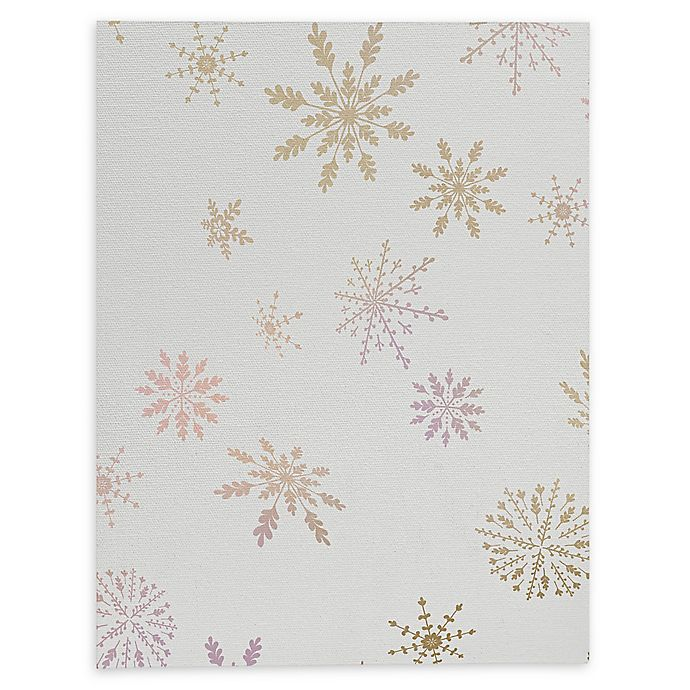 Alternate image 1 for Deny Designs December Snow 8-Inch x 10-Inch Canvas Wall Art