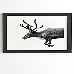 Deny Designs Reindeer Framed Wall Art
