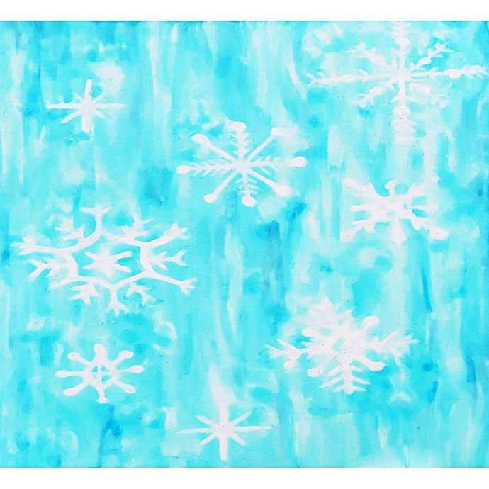 Alternate image 1 for Deny Designs Snowing Wall Art