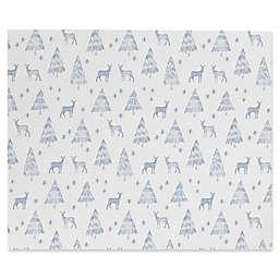 Deny Designs Little Arrow Design Co Nordic Winter Canvas Wall Art in White