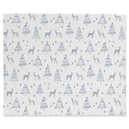 Deny Designs Little Arrow Design Co Nordic Winter Canvas Wall Art in White