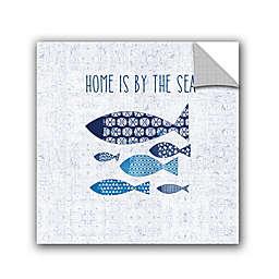 Studio Pela Coastal Vinyl Wall Art in Blue