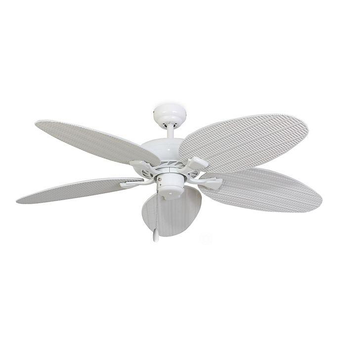 Alternate image 1 for 52-Inch Islamorada White Ceiling Fan