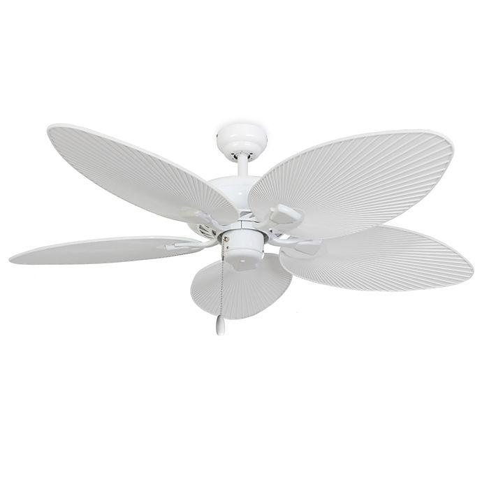 Alternate image 1 for 52-Inch Simonton White Ceiling Fan