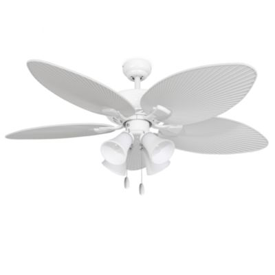 52 Inch Simonton 4 Light White Ceiling
