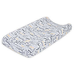 ED Ellen DeGeneres Woodland Friends Changing Pad Cover in Grey