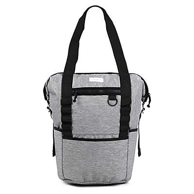 Thea Thea Backpack Diaper Tote in Heather Grey