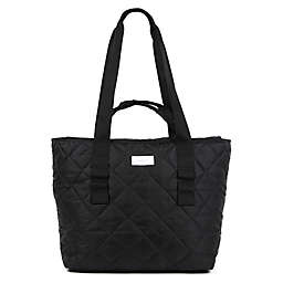 Thea Thea Diaper Tote in Quilted Black