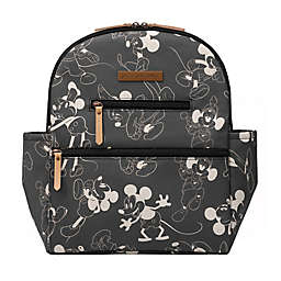 Petunia Pickle Bottom® Mickey Mouse Ace Diaper Bag Backpack in Black
