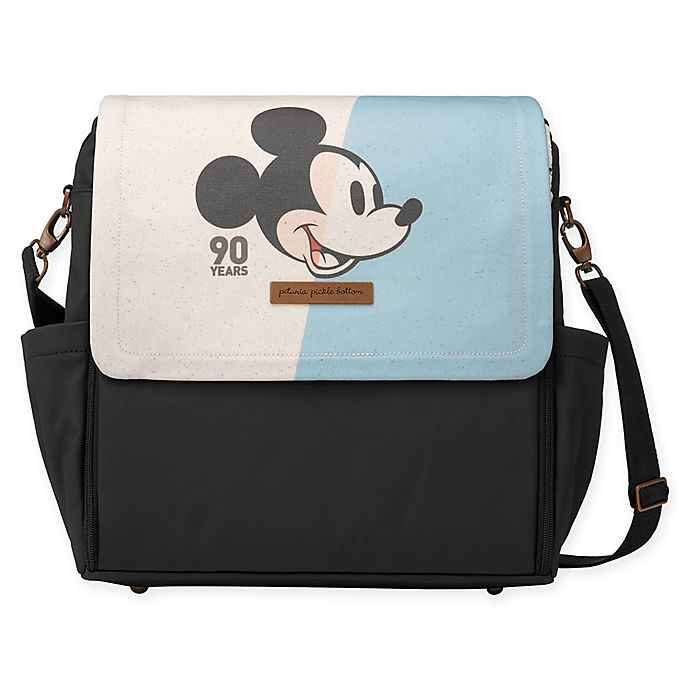 Alternate image 1 for Petunia Pickle Bottom® Mickey's 90th Disney® Collaboration Boxy Backpack Diaper Bag