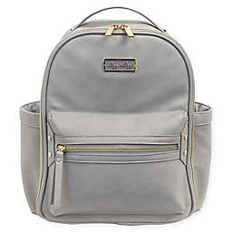 Itzy Ritzy® Mini Backpack Diaper Bag in Grey