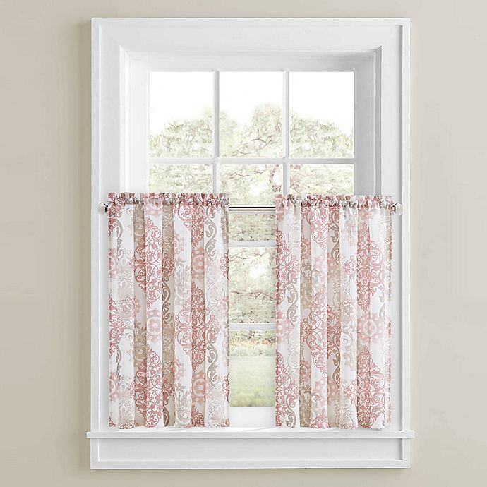 Alternate image 1 for Galileo 45-Inch Window Curtain Pair in Blush